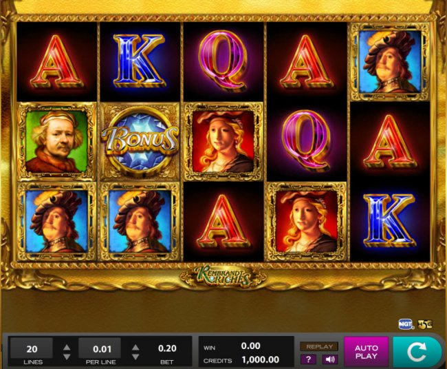 Rembrandt Riches by Free Slots 247