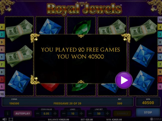 Royal Jewels screenshot