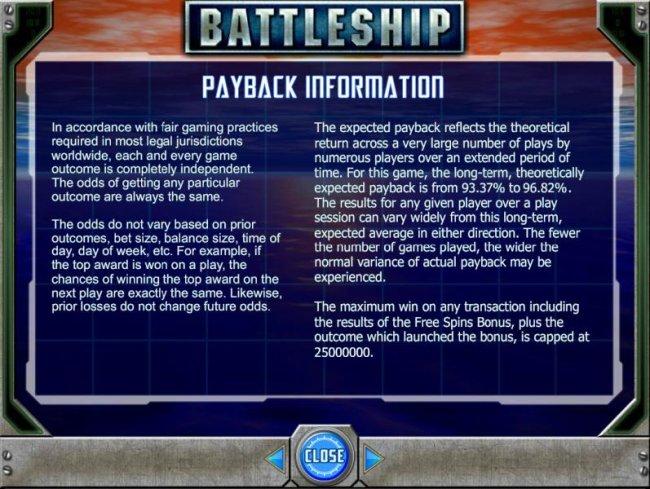 Free Slots 247 image of Battleship