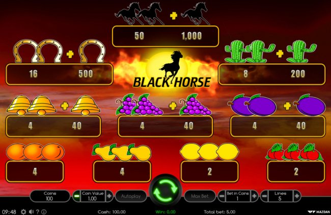 Black Horse by Free Slots 247