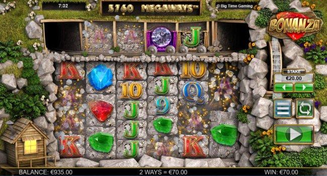 Bonanza Megaways screenshot