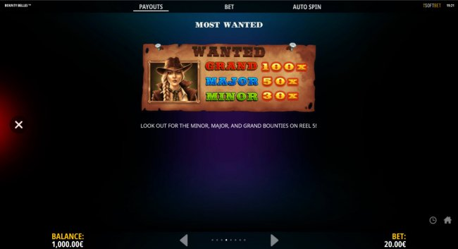 Free Slots 247 - Most Wanted