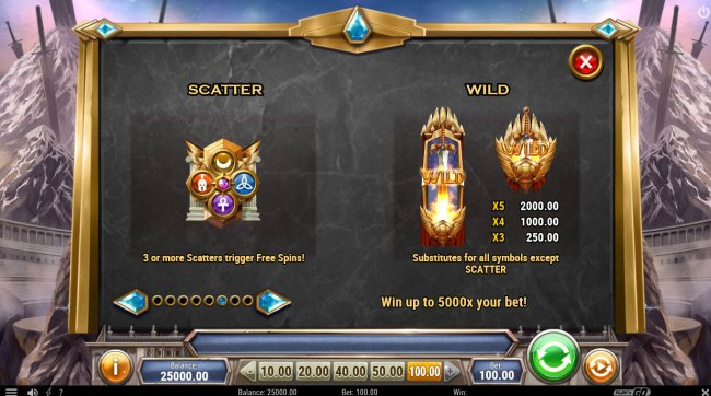 Free Slots 247 image of Divine Showdown