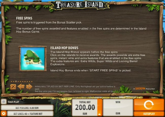 Treasure Island by Free Slots 247