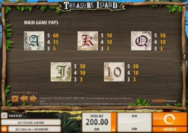 Free Slots 247 image of Treasure Island