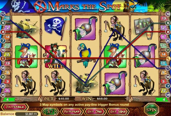 Free Slots 247 image of X Marks The Spot