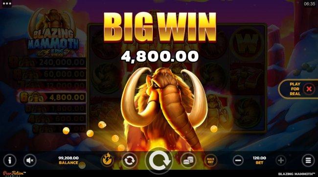 Free Slots 247 image of Blazing Mammoth Epic Strike