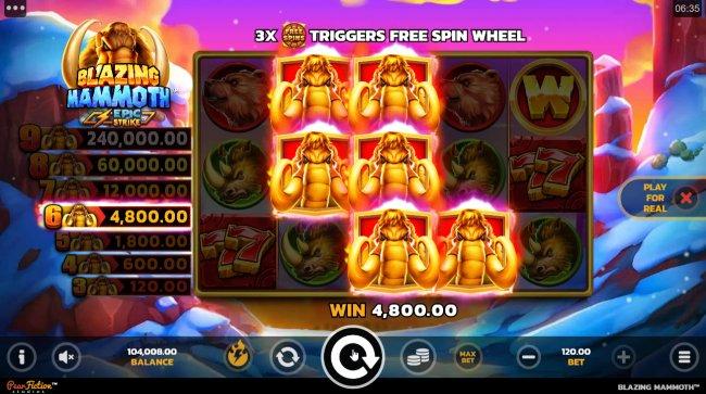 Blazing Mammoth Epic Strike screenshot