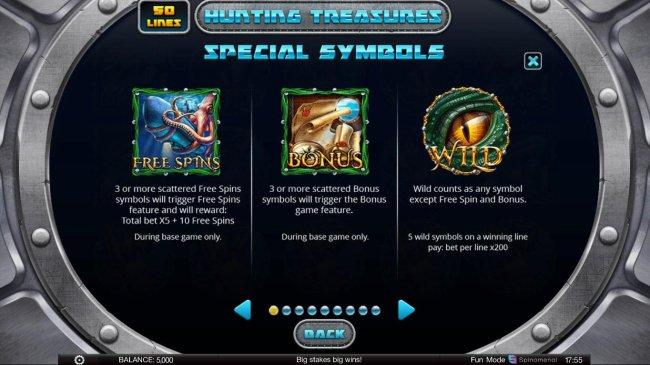 Free Slots 247 image of Hunting Treasures