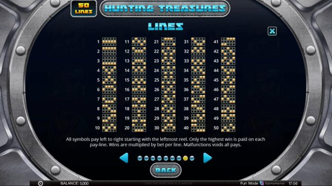 Paylines 1-50 by Free Slots 247