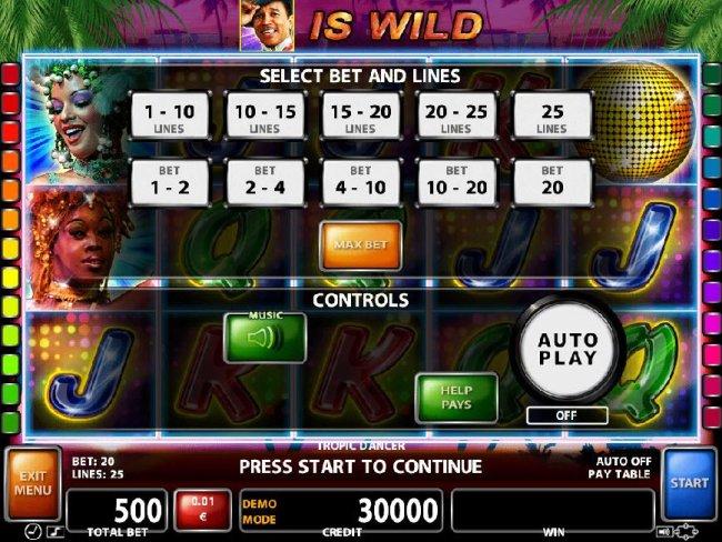 Free Slots 247 image of Tropic Dancer