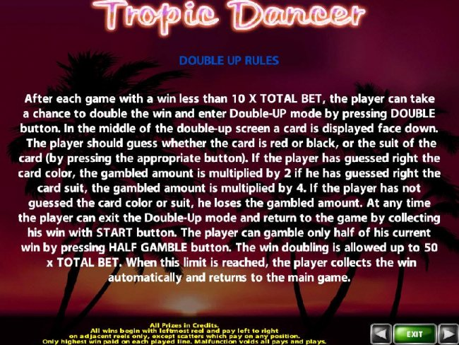 Tropic Dancer by Free Slots 247