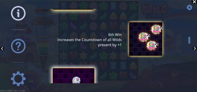 6th win increases the wild countdown - Free Slots 247