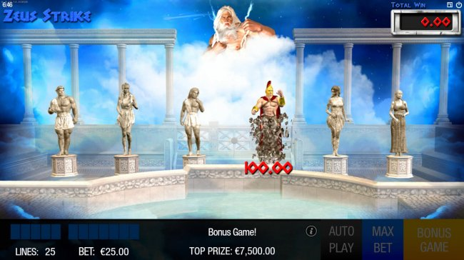 frozen statues are zapped and cash prie revealed - Free Slots 247