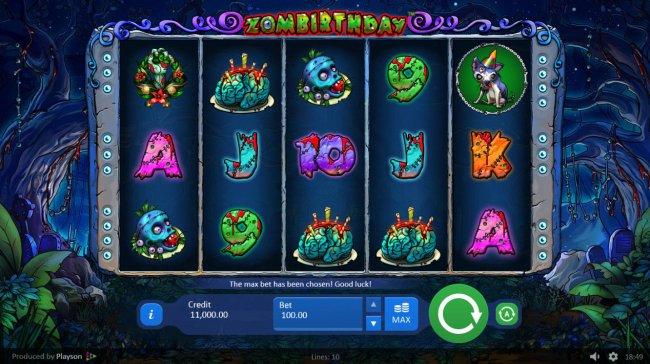 Free Slots 247 image of Zombirthday