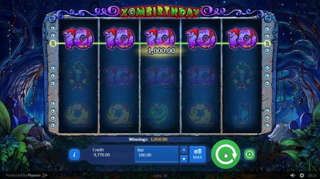 Zombirthday by Free Slots 247