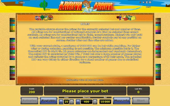 Arriva Arriva by Free Slots 247