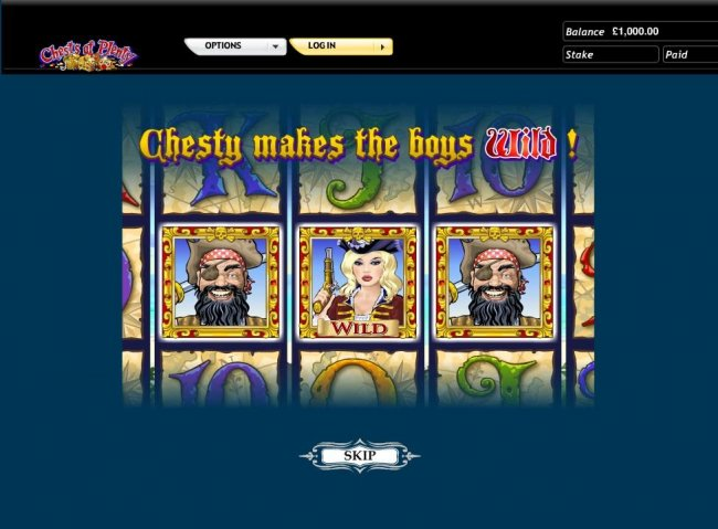 Chesty makes the boys wild. - Free Slots 247