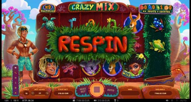 Free Slots 247 - Respin triggered