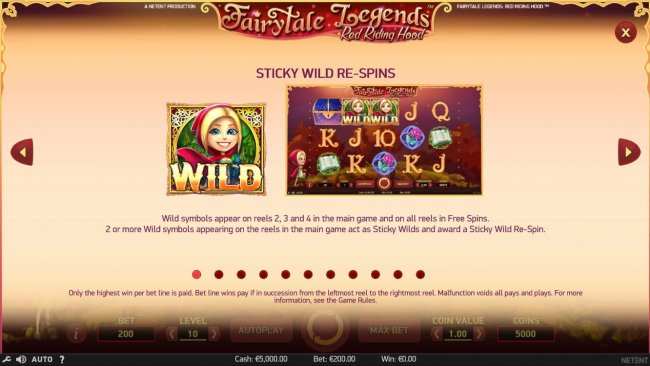Fairytale Legends Red Riding Hood by Free Slots 247