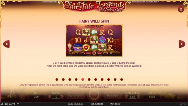 Free Slots 247 - Fairy Wild Spin Game Rules