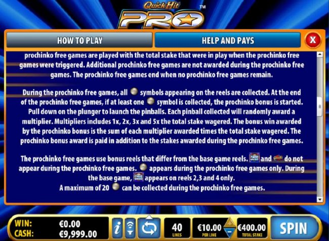 Quick Hit Pro by Free Slots 247
