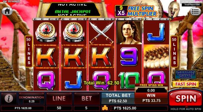 Free Slots 247 image of Spartan
