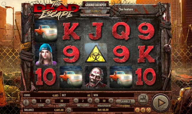 Free Slots 247 image of The Dead Escape
