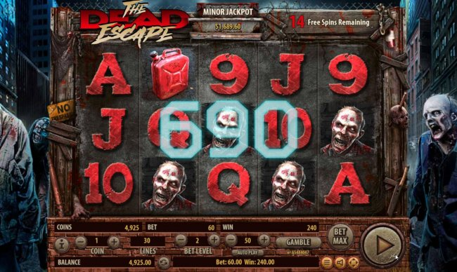 The Dead Escape by Free Slots 247