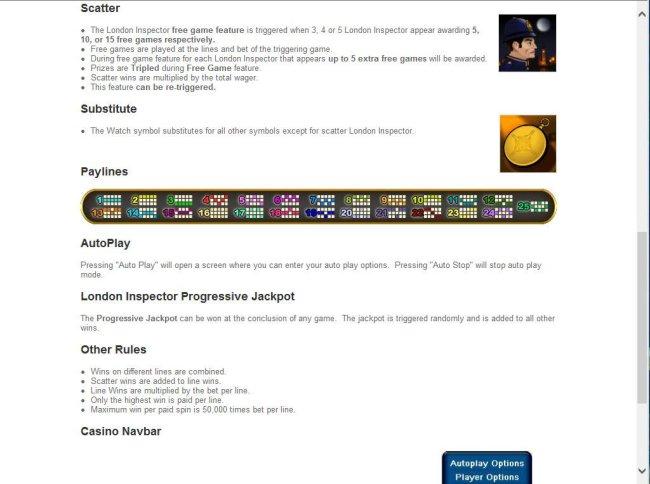 Wild, Scatter, Bonus Progressive Jackpot Rules by Free Slots 247
