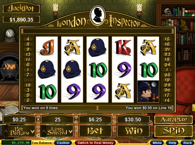 London Inspector by Free Slots 247