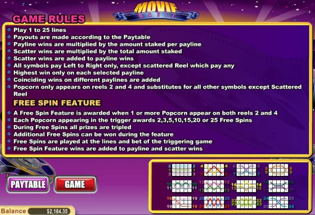 Movie Magic by Free Slots 247