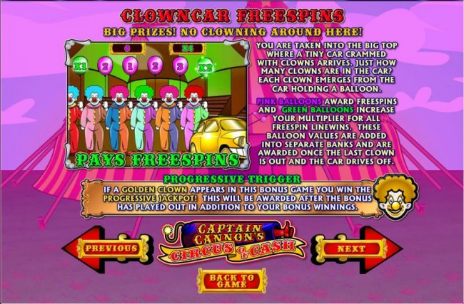 Captain Cannon's Circus of Cash screenshot