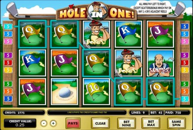 Hole in One! screenshot