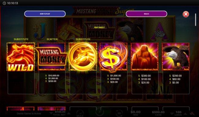 Mustang Money Super screenshot