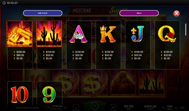Mustang Money Super by Free Slots 247