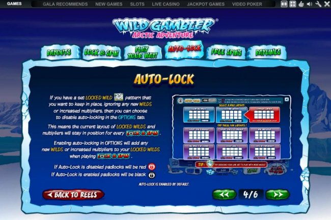 how to use the auto lock wild feature - Free Slots 247