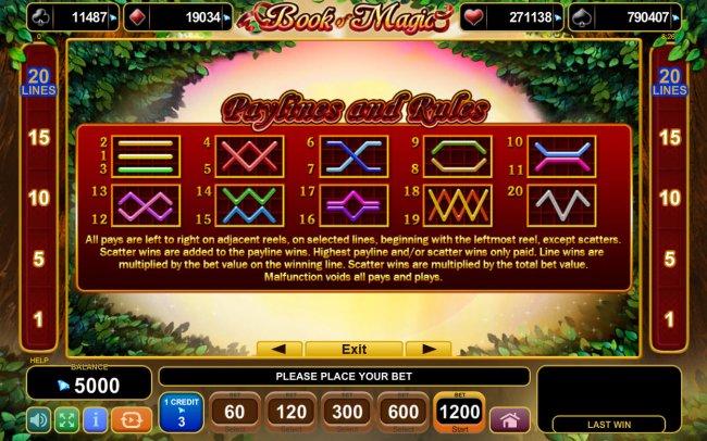 Book of Magic screenshot