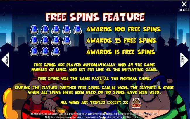 Free Slots 247 image of Cops N Robbers - Safecracker