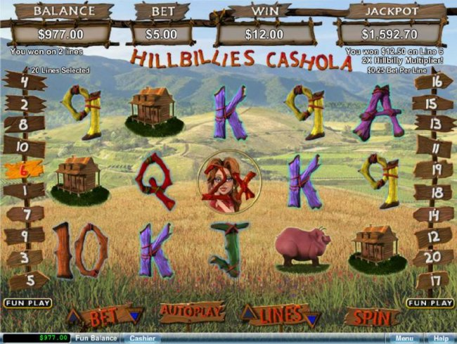 Spiele Hillbillies - Video Slots Online
