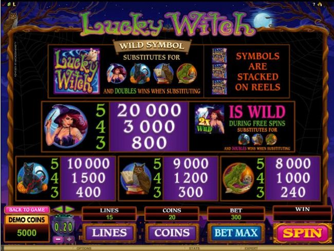 Lucky Witch by Free Slots 247