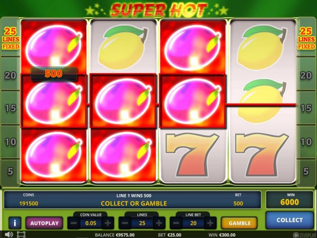 Super Hot by Casino Bonus Lister