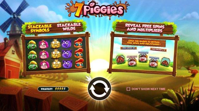 Free Slots 247 image of 7 Piggies