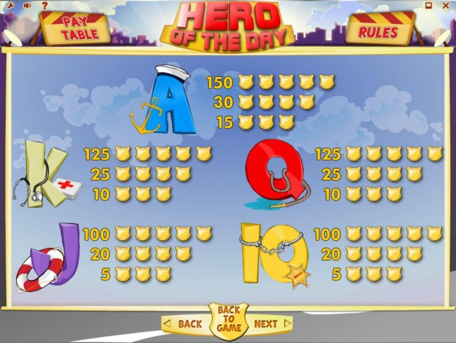 Hero of the Day by Free Slots 247