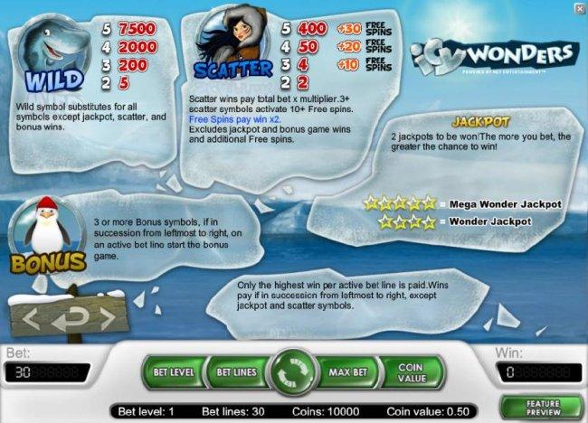Free Slots 247 image of Icy Wonders