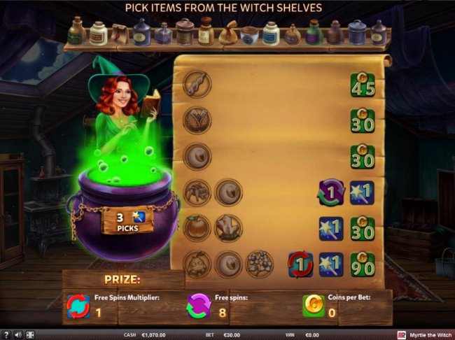Myrtle the Witch screenshot