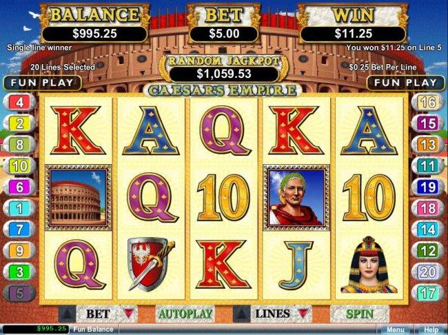 Free Slots 247 image of Caesar's Empire