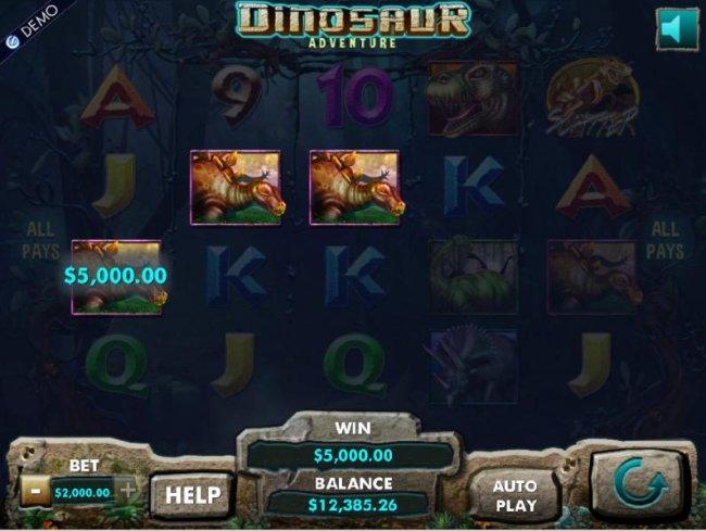 Dinosaur Adventure by Free Slots 247