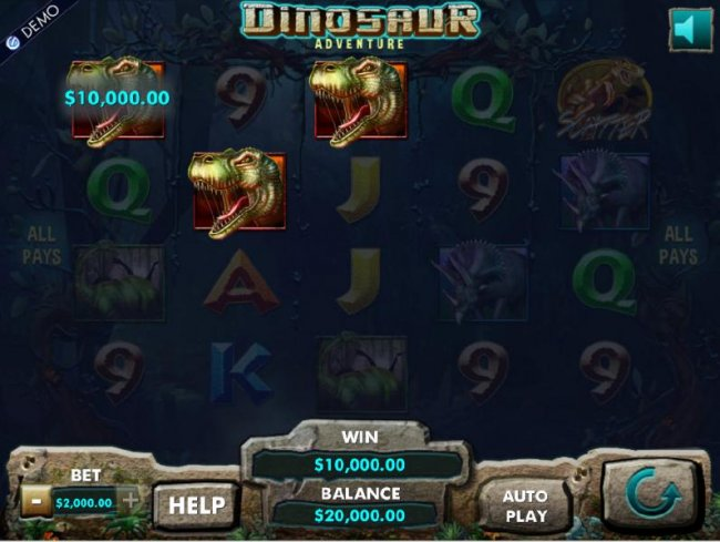 Dinosaur Adventure screenshot