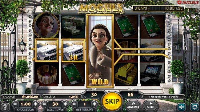 Free Spins feature expanded wild symbols by Free Slots 247